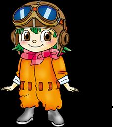 公式キャラクター 楽ちゃん